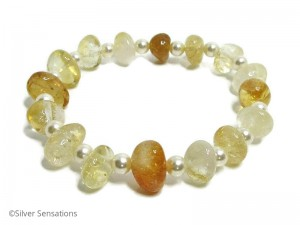 Natural-Citrine-pearls-bracelet