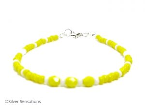 Yellow-white-stacking-bracelet